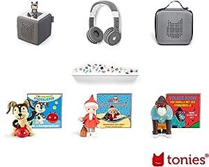tonies BXAN-TBAN-TRW-LSAN-T3.0 - Juego de Figuras de Madera, Multicolor