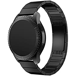 For Samsung Gear S3 Frontier Strap Band ,Fulltime(TM) Stainless Steel Watch Band Strap Metal Clasp For Samsung Gear S3 Frontier