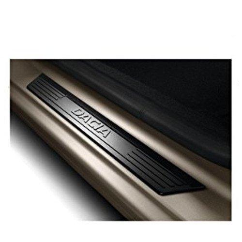 Genuine Dacia Duster, Logan y Sandero placas de umbral de la puerta frontal/entrada guardias