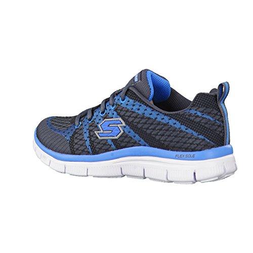 Skechers Flex Advantage Paybacks, Jungen Sneakers Gris (Ccbl)