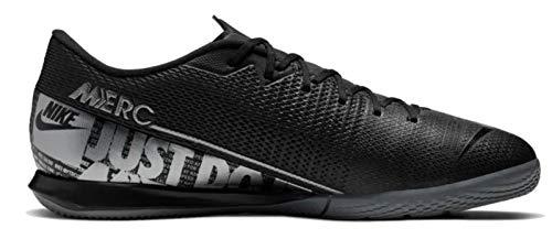 Nike Herren Vapor 13 Academy Ic Fußballschuhe, Schwarz (Black/MTLC Cool Grey-Cool Grey 001), 44.5 EU