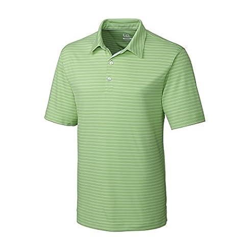 NEW 2015Cutter & Buck T-shirt pour homme Performance Polo de golf pour homme à manches courtes Uni bande Top Dry Tech L'Humidité d'été de tennis de Sport Casual Fashion Vêtements Taille S–XXL - - Large