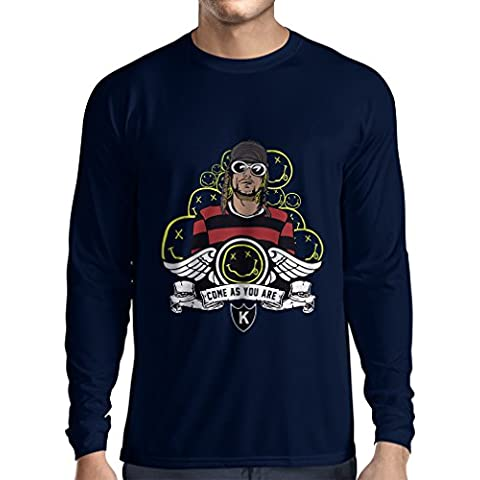 N4585L Camiseta de manga larga Come as you are