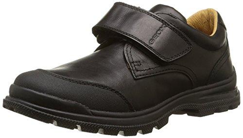 GEOX - Jr William - Chaussures Habillées, garçon Schwarz (BLACKC9997)