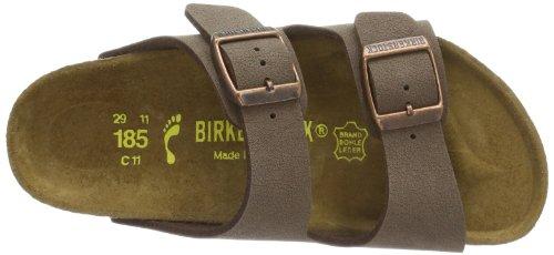 Birkenstock Arizona Birko Flor, Sandales Garçon Marron (mocca)