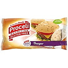 Pan burguer hamburguesa Proceli Sin Gluten 2 unidades