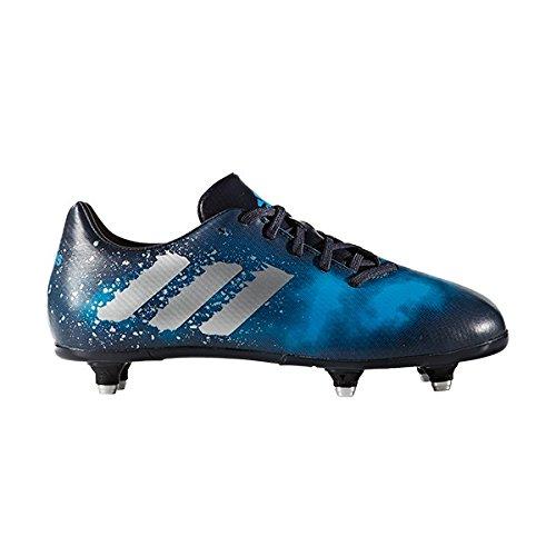 adidas Malice Sg J, Scarpe da Rugby Unisex – Bambini Blu (Maosno/Plamet/Azusol)