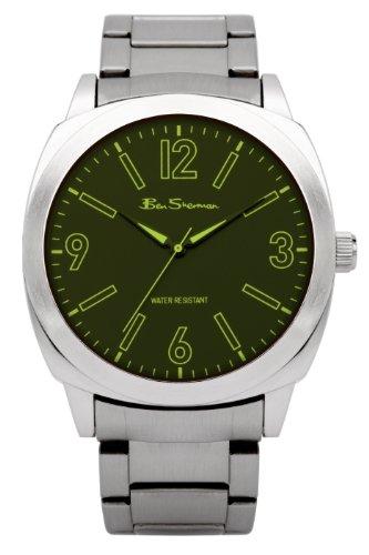 ben-sherman-bs039-reloj-analgico-de-cuarzo-para-hombre-correa-de-otros-materiales-color-plateado