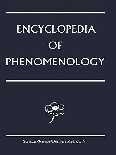 Encyclopedia of Phenomenology: Volume 18 (Contributions To Phenomenology)