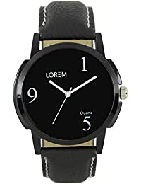OpenDeal New Lorem Black Casual Analog Watch For Men OD-W205