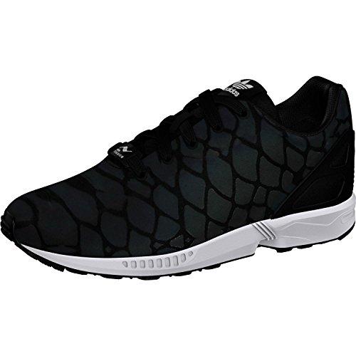 Adidas Originals ZX Flux Xeonpeltis Youth Black Mesh Trainers
