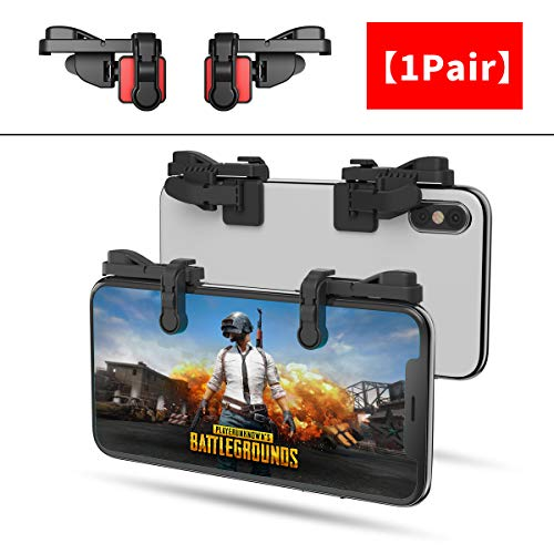 IFYOO Z108 Mobile Gaming Controller for PUBG Mobile/Fortnite Mobile/Knives Out/Rules of Survival – Sensitive Shoot and Aim Trigger L1R1 for Android & iOS Phone [less than 11mm thickness]