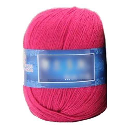 1 filo di cashmere, da 50 g, lavorato a maglia, in cashmere, per lavori a maglia, per sciarpe, vestiti, YR07, taglia unica
