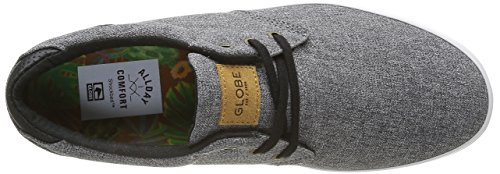 Globe Willow, Chaussures de Skateboard Homme Gris (20235)