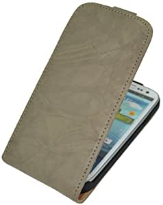 Suncase Flipstyle Vintage Ledertasche für das Samsung Galaxy S3 i9300 wash-creme