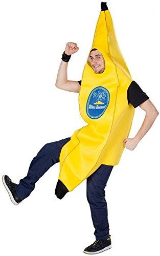 Bananen Für Erwachsene Kostüm - Besttoy Kostüme Kostüm - Banane - für Erwachsene