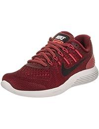 Nike Wmns Nike Lunarglide 8–Cedar/Black de Hot Punch de Electrol, multicolor, 7