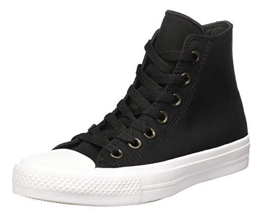 Converse Unisex-Erwachsene Sneakers Chuck Taylor All Star Ii C150148 High-Top Schwarz (Black/white/navy)