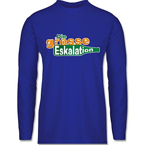 Festival - Die große Eskalation - Longsleeve / langärmeliges T-Shirt für Herren Royalblau