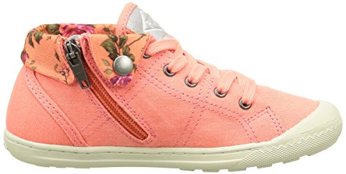 PLDM by Palladium Letty Twl, Baskets Hautes Fille Orange (D49 Corail/Flower)
