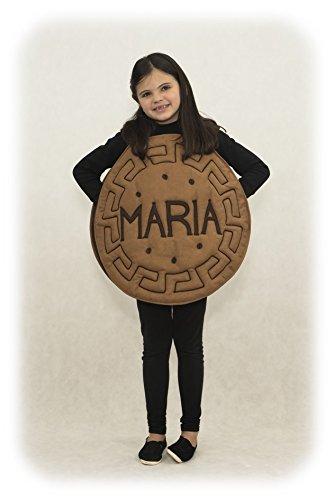 Imagen de disfraz de galleta maría para niños talla s