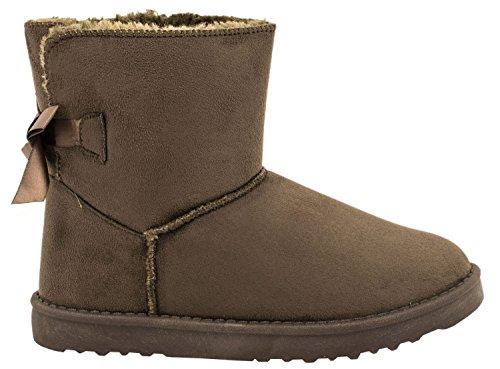 Elara Winter Boots | Bequeme Damen Stiefel | Schlupfstiefel | chunkyrayan Grün