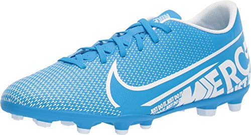 Nike Mercurial Vapor 13 Club MG, Botas de fútbol Unisex Adulto, (Blue Hero/White/Obsidian 414), 43 EU