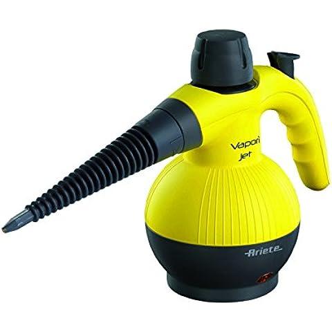 Ariete 4132 - Pistola de vapor, 900 W, 3,5 BAR de presión, 3 accesorios, color amarillo