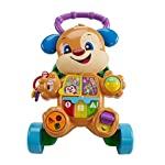 Fisher-Price Learn with Puppy Walker, Baby Walker, Electronic Educational Toy with Songs, Sounds and Phrases, 6 Months Plus