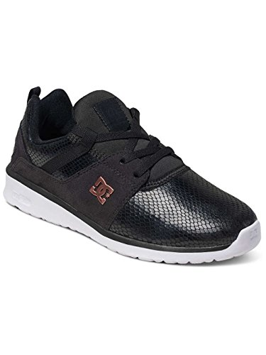 DC Shoes Heathrow Se J, Baskets Basses femme Noir - Black/Black