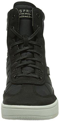 ESPRIT Desire Bootie, Sneaker alta Donna Nero (Schwarz (001 black))