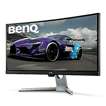 BenQ EX3501R 35 Pollici Ultra WQHD 100 Hz HDR Curved Gaming Monitor, 21:9, 3440 x 1440, FreeSync, HDR, 1800R, HDMI, Display Port, USB-C