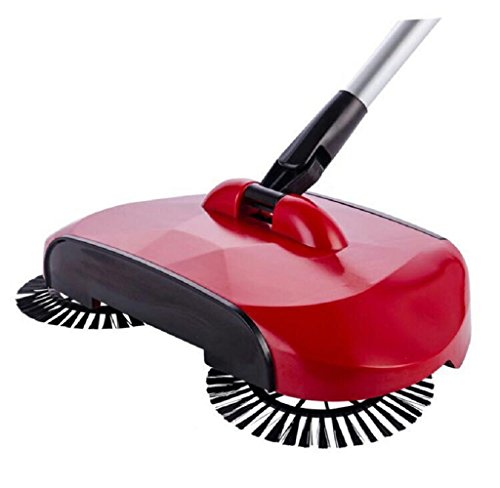 "SET-SAIL Ankunft 360 Rotary Home Magic Manuelle Teleskop Boden Staub Sweeper, mmtop, rot, 4.1x11.8x7.5"" / 112*30*19CM"