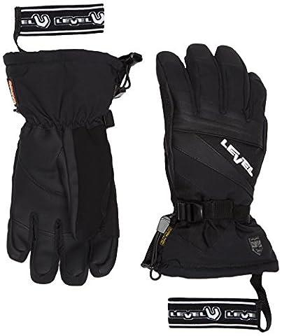 Level Adult Gloves Patrol Black black Size:Length 176.5 mm; width 203 mm