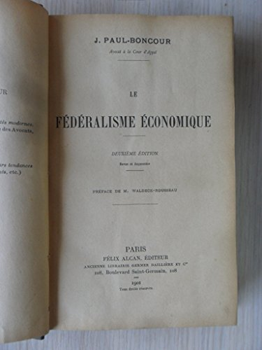 federalisme-economique-1901
