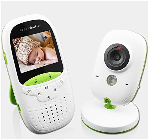 BABYMONITORgxg Baby Monitor Indoor WiFi-Überwachungskamera, Zwei-Wege-Audio, Nachtsicht, Bewegungserkennung Long Range Sound Aktivierung Long Range Ir