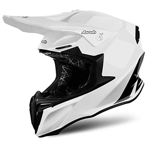Airoh - casco moto cross airoh twist color white gloss tw14 - catw18c - m