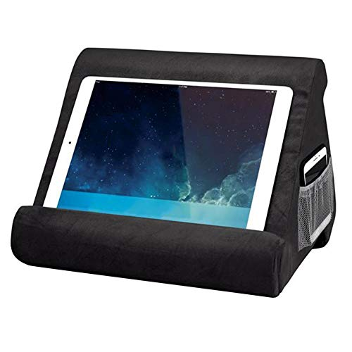 Euopat Pad Pillow, Pad Pillow Stand, Book Rest, Tablet Sofa, Supporto per Laptop, Mini Tablet Supporto per Computer per iPad Air, Tablet, E-Readers, Smartphone, per Aereo