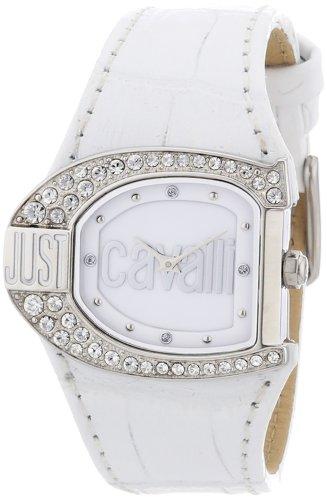 Just Cavalli R7251160545 - Reloj de mujer de cuarzo, correa de piel color blanco