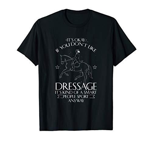 Dressurreiter Shirt für Pferde Liebhaber mit Reiter Motiv (Im Galopp Die Welt)