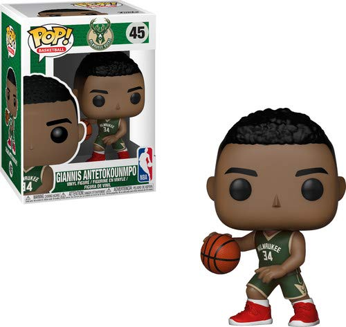 Funko 34436 Pop! Vinilo: NBA: Giannis Antetokounmpo, Multi