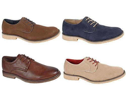 Foster Footwear , Richelieu garçon homme mixte adulte Marron - Bleu marine/beige