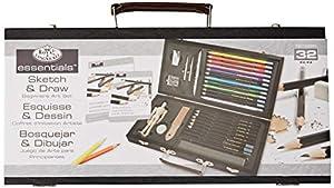Royal and Langnickel RSET-DS3000 - Juego de Pintura y Dibujo para Principiantes