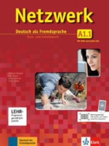 Netzwerk A1 in Teilbänden - Kurs- und Arbeitsbuch, Teil 1 mit 2 Audio-CDs und DVD : Deutsch als Fremdsprache