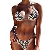 NPRADLA Damen Mädchen Plus Size Rüschen Gebrochene Blumen BH Bikini Split Body Badeanzug Beachwear
