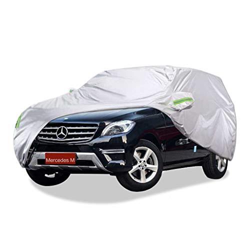SXET-Cubierta de coche Cubierta antipolvo Cubierta antipolvo, Cubierta antipolvo del automóvil, Parabrisas, Impermeable, A prueba de viento, Antipolvo, Resistente a rayones, Mercedes-Benz M Series