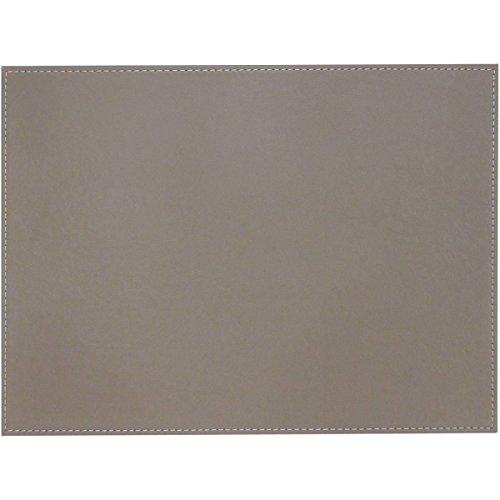 FreeForm, Plateau réversible rectangulaire, Taupe et Blanc, S, 45 x 35 cm