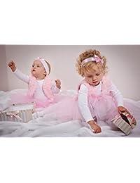 Gilet bébé enfants gilet Gilet en rose en fourrure synthétique 92cm