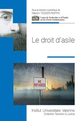 Le droit d'asile par Marion TISSIER-RAFFIN