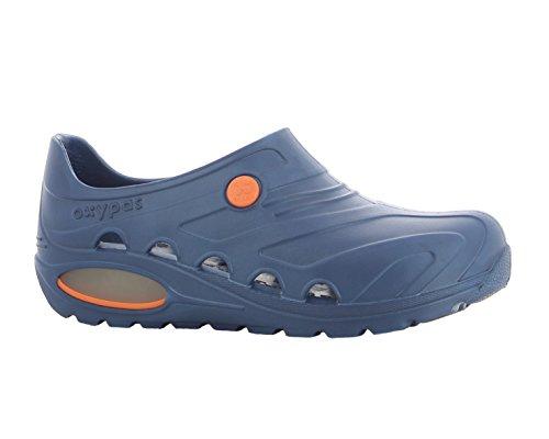 Oxypas Oxyva 'Ligero, Lavable, Antideslizante EVA - Zapatos de Enfermería con Absorción de Golpes y Apoyo Postural, Color, Talla 39-40 EU